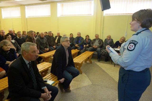 Bendruomenes ataskaitinis susirinkimas